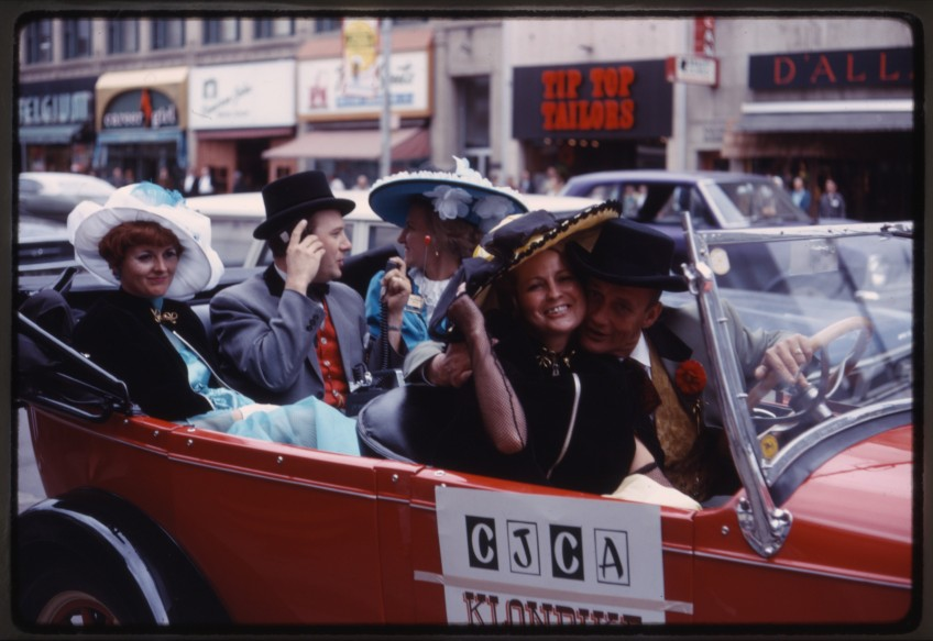 Klondike Days Parade July 1968