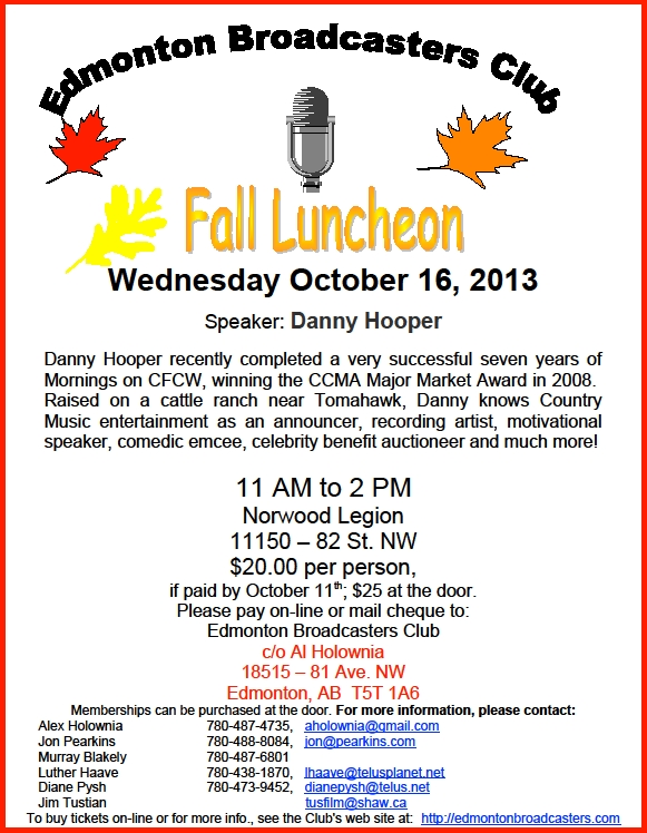 Fall Luncheon 2013